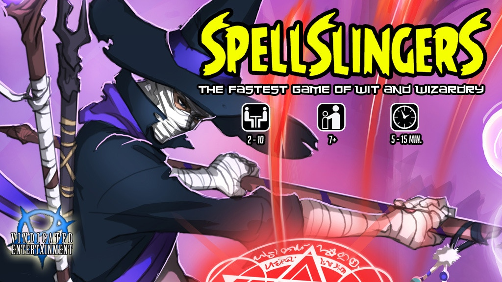 Spellslingers: The Fastest Game of Wit and Wizardry project video thumbnail