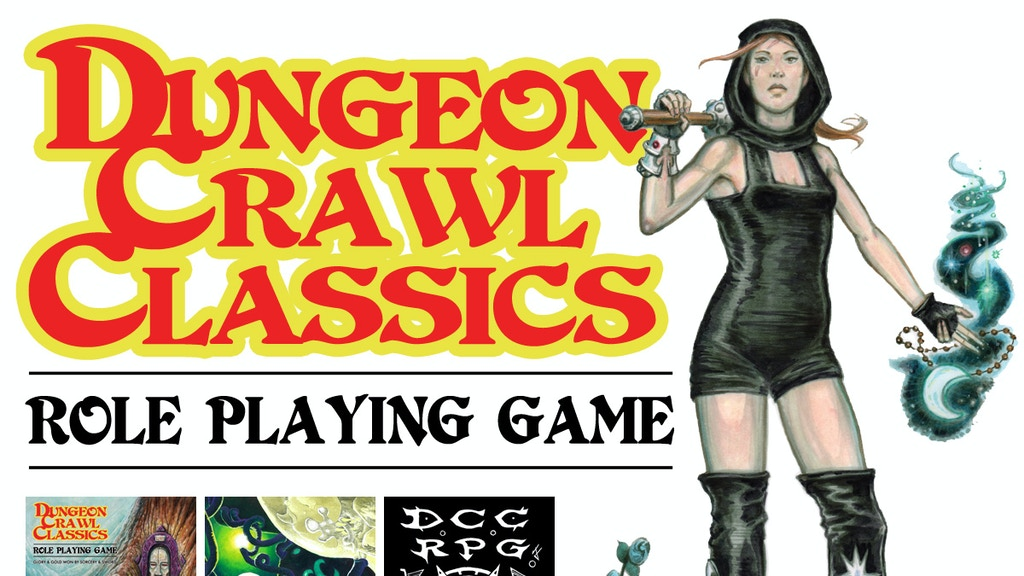 DCC RPG 4th Printing project video thumbnail