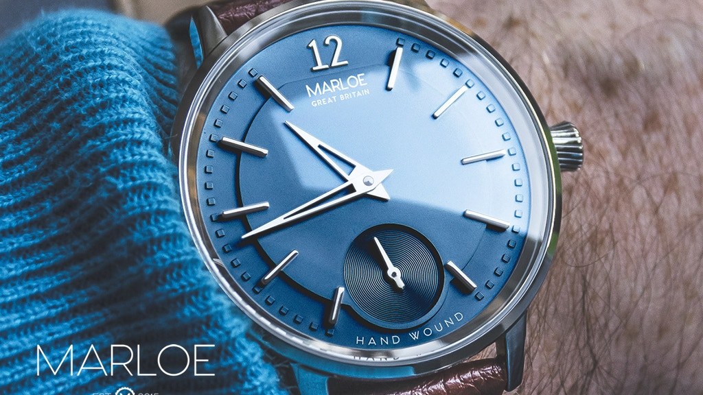 The Cherwell - A New Hand-Wound Mechanical Watch project video thumbnail