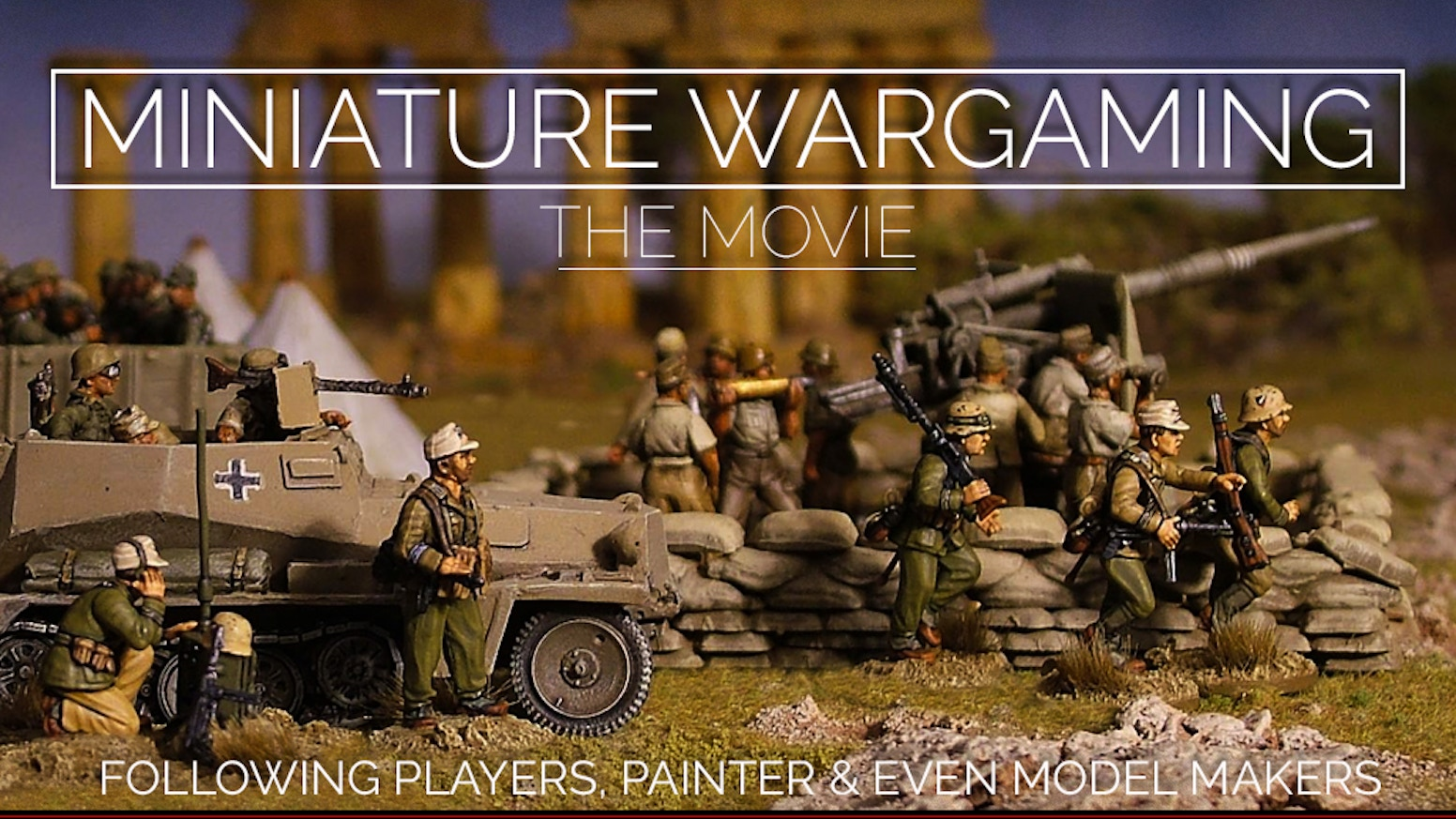 Following Players, Painters & Even Model Makers. Dive into the amazing world of Miniature Wargaming. Limited edition miniature created.