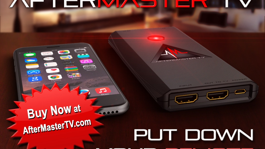 AfterMaster TV. Television Audio Reinvented. project video thumbnail