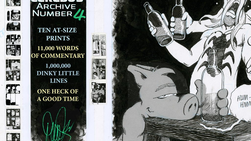CAN4 - CEREBUS ARCHIVE NUMBER FOUR project video thumbnail