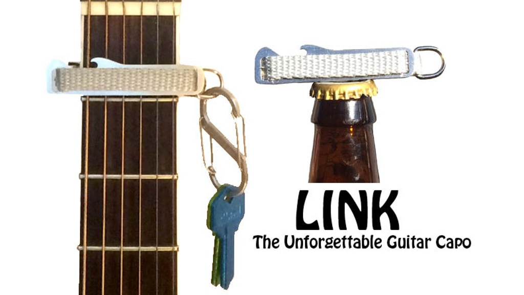 Link The Unforgettable Guitar Capo By Ric Salazar Kickstarter