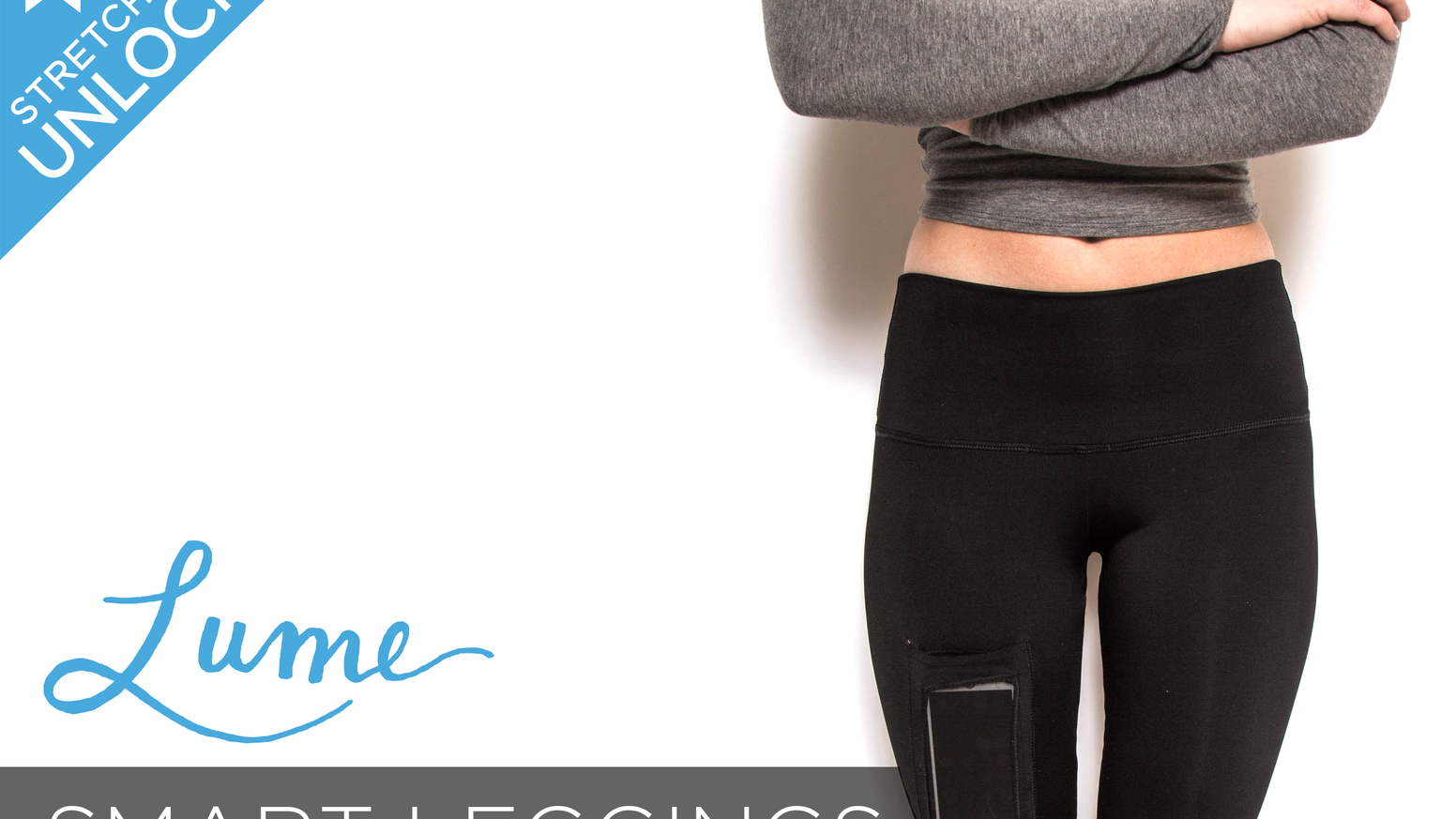 """Leggings made to fit your lifestyle. Lume Smart Leggings feature an innovative patent pending """"Smart Pocket."""""""