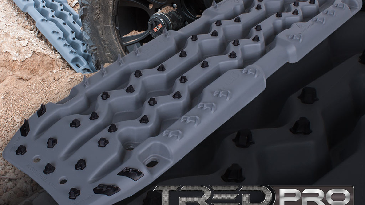 TRED Pro™ is the world's most advanced all-in-one off-road vehicle recovery device.