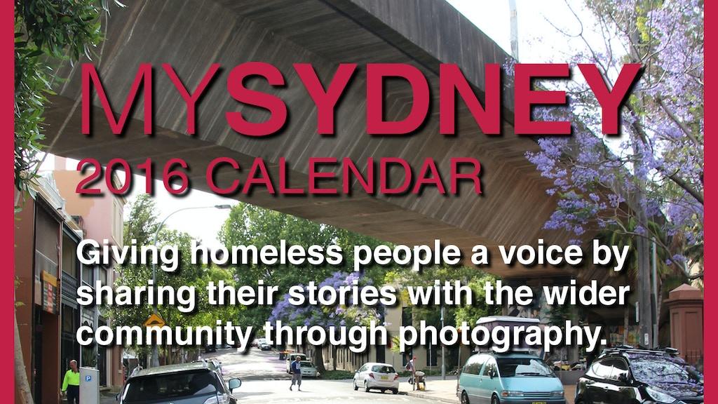 MySydney 2016 Calendar project video thumbnail