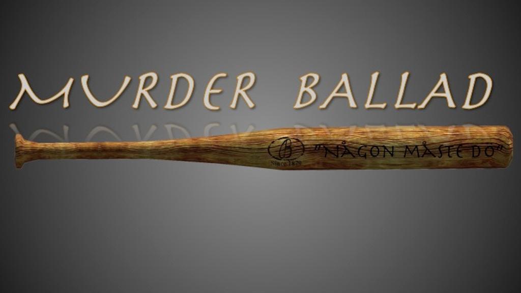Project image for Murder Ballad - Någon måste dö. En musikal från Broadway.