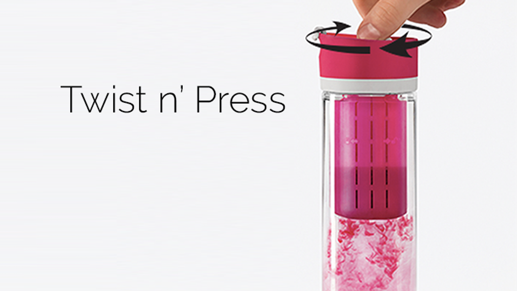 Pressa Bottle - Experience Pressed Water project video thumbnail