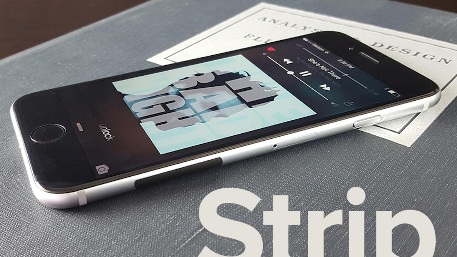 Strip A Simple Fix For Slippery Phones By Nathan Cobb Kickstarter Nok Handphone Subtle But Effective Case Alternative Beautiful Iphone 6 Samsung Galaxy