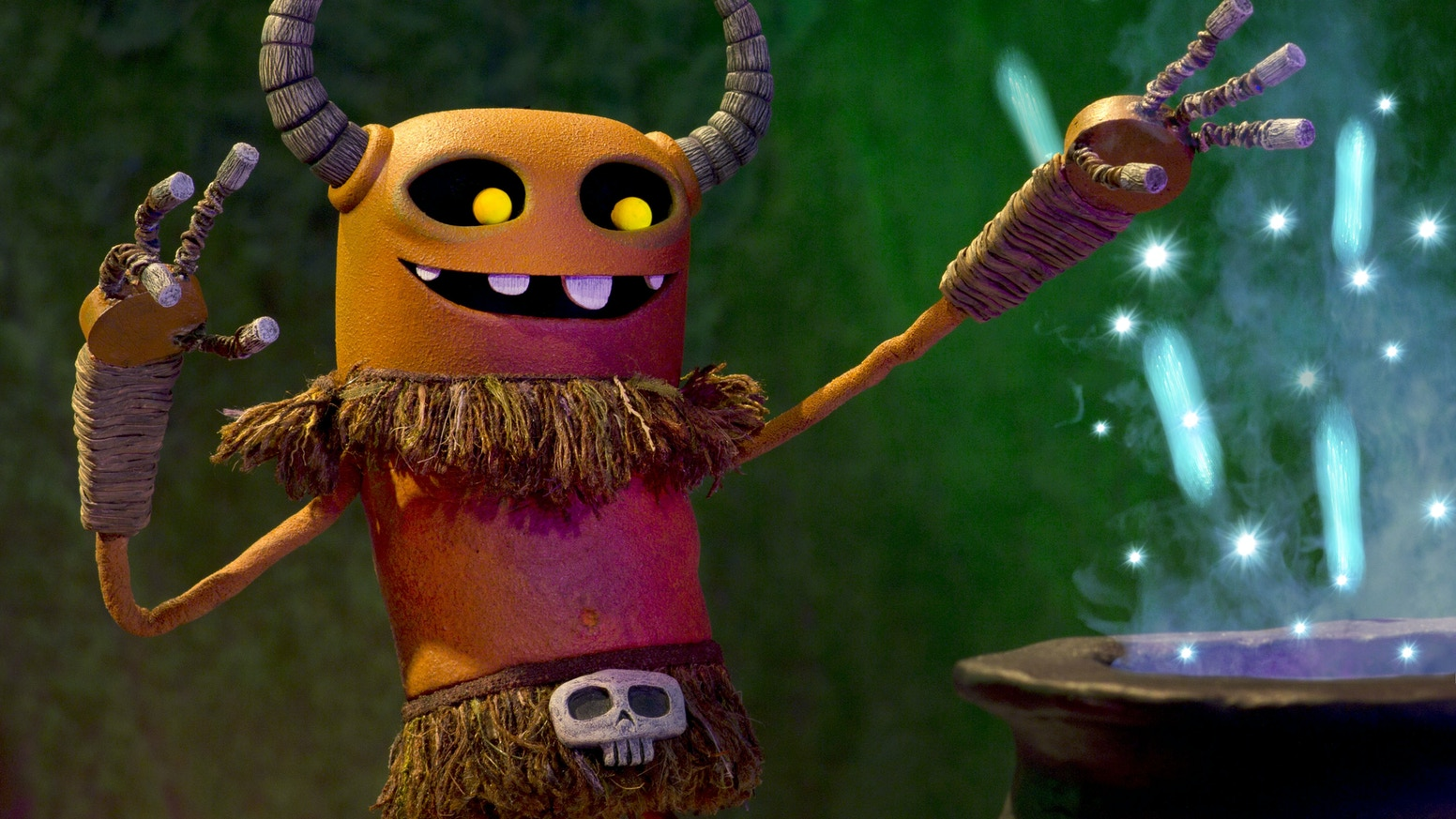 The WitchDoctor is a kinetic, black-light, stop-motion short set in a mysterious Tiki wonderland.