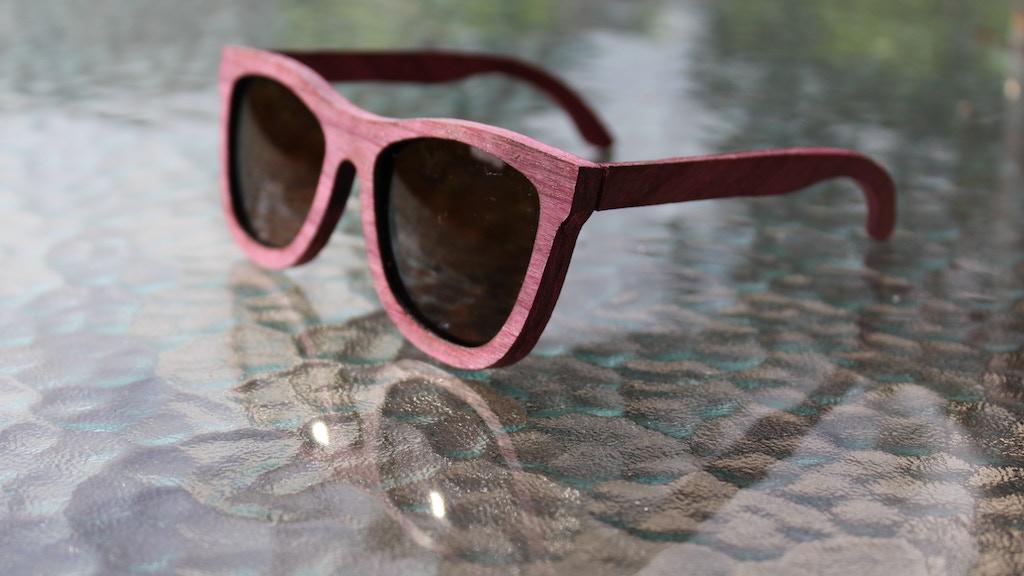a5fa439e1d23 Ório One - Purpleheart Wooden Sunglasses by Ruggero Gonzalez ...