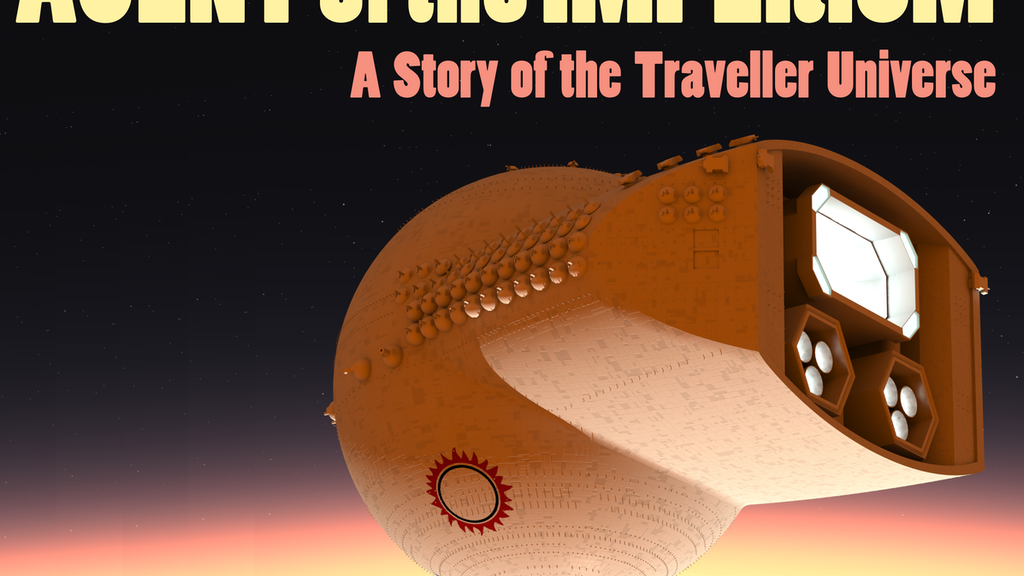 Agent of the Imperium: Marc Miller's Traveller Novel project video thumbnail
