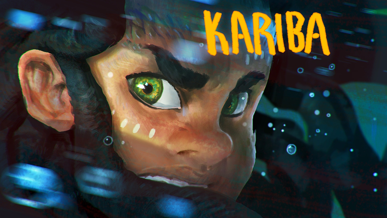 History and mythology collide in the story of KARIBA, an African graphic novel.