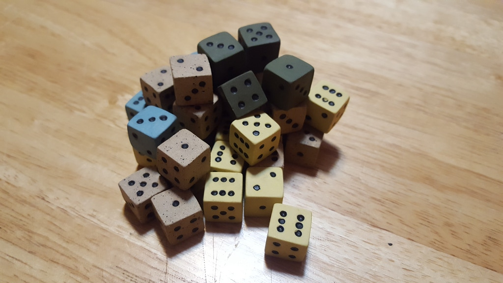 Hand Crafted Ceramic Pipped Dice project video thumbnail