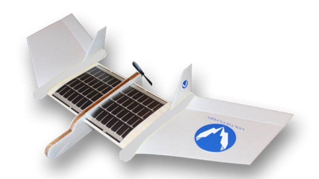World 39 s first solar powered airplane stem kit for kids by for Solar energy projects for kids