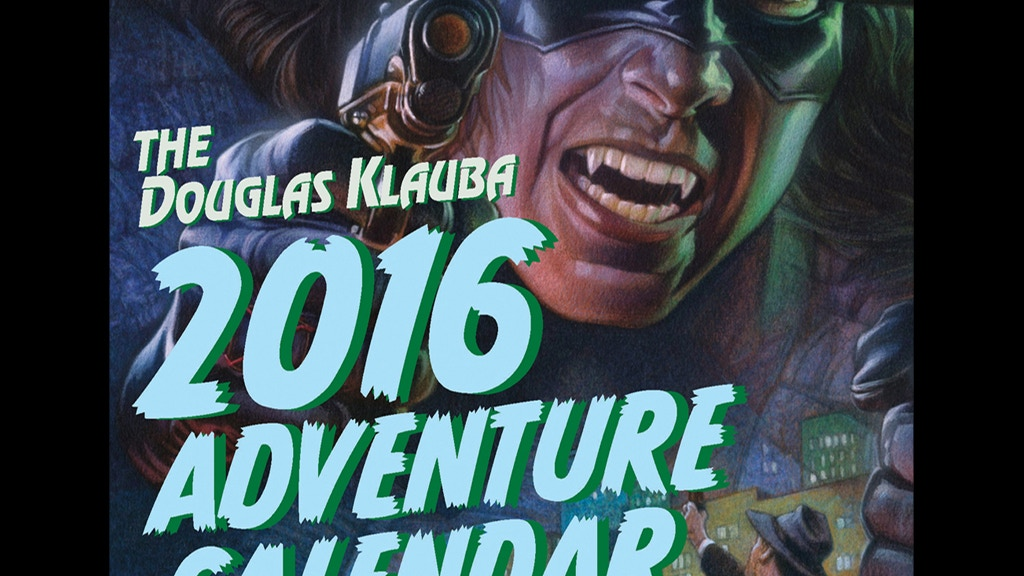 The Douglas Klauba 2016 Adventure Calendar project video thumbnail