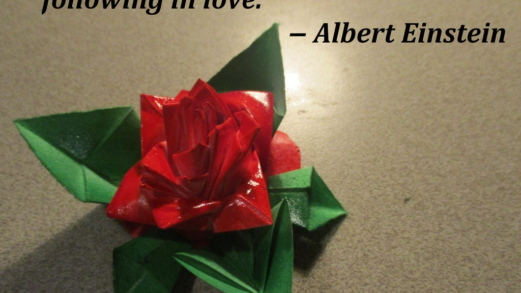 Project image for Paper Gift Roses