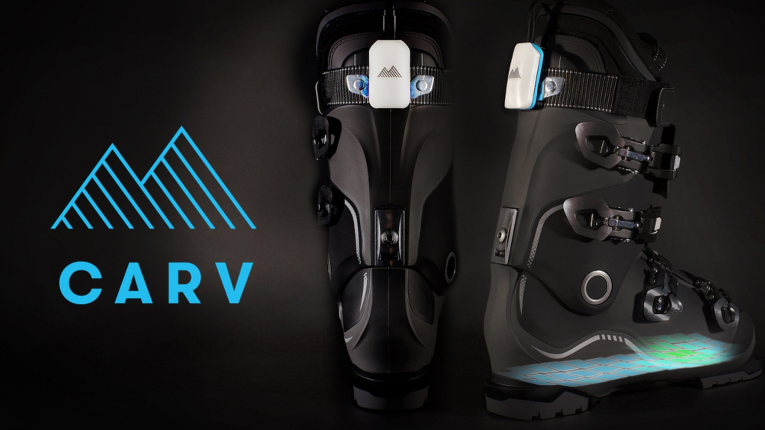 Carv The Worlds First Wearable That Helps You Ski Better By Cut Engineer Iron Safety Boots Blue Leather Motionmetrics Kickstarter