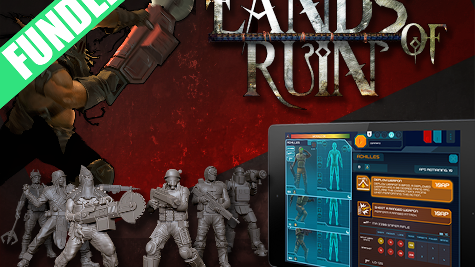 Lands of Ruin - Hybrid Tabletop Gaming as it Should Be by