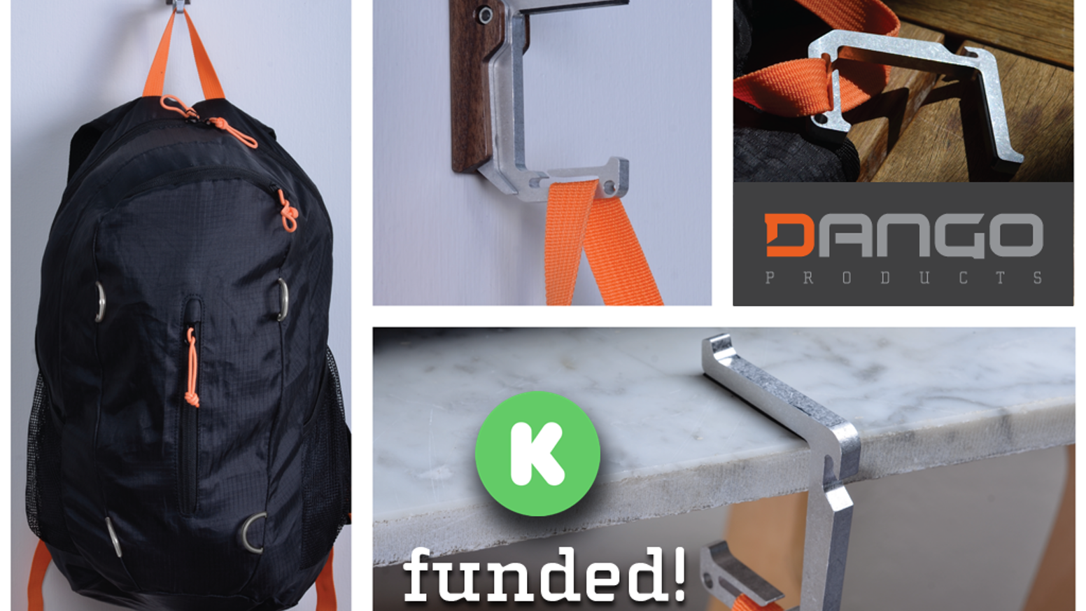 Dango Products was created to suit the needs of an active lifestyle- with industrial design. .
