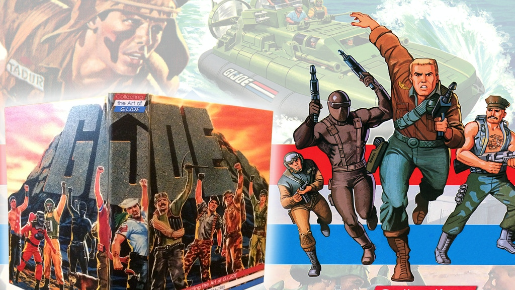 Collecting the art of G.I. Joe: Volume 2 (1984-1985) project video thumbnail