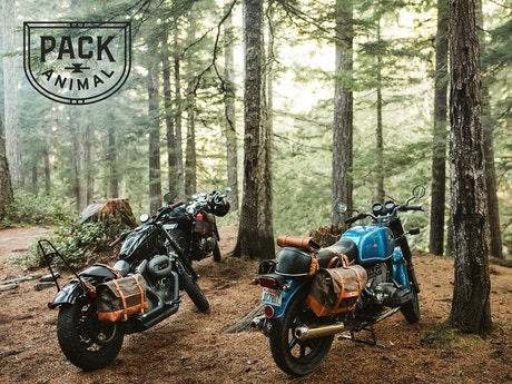 Motorcycle Saddlebags And Tool Rolls By Pack Animal