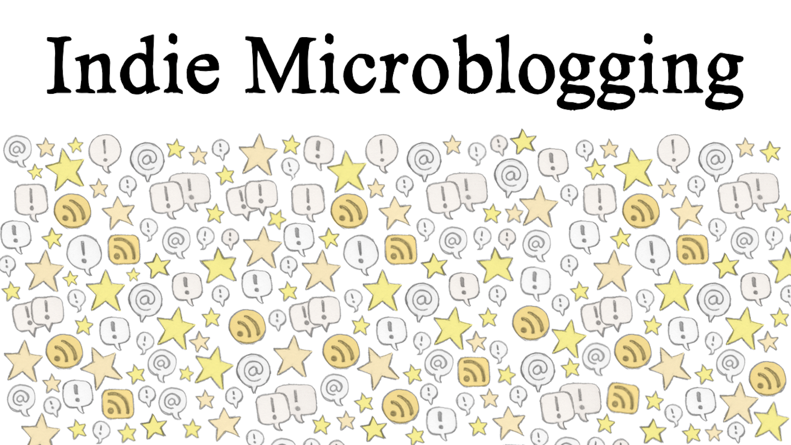 I'm writing a book about independent microblogging, and launching a publishing platform called Micro.blog.