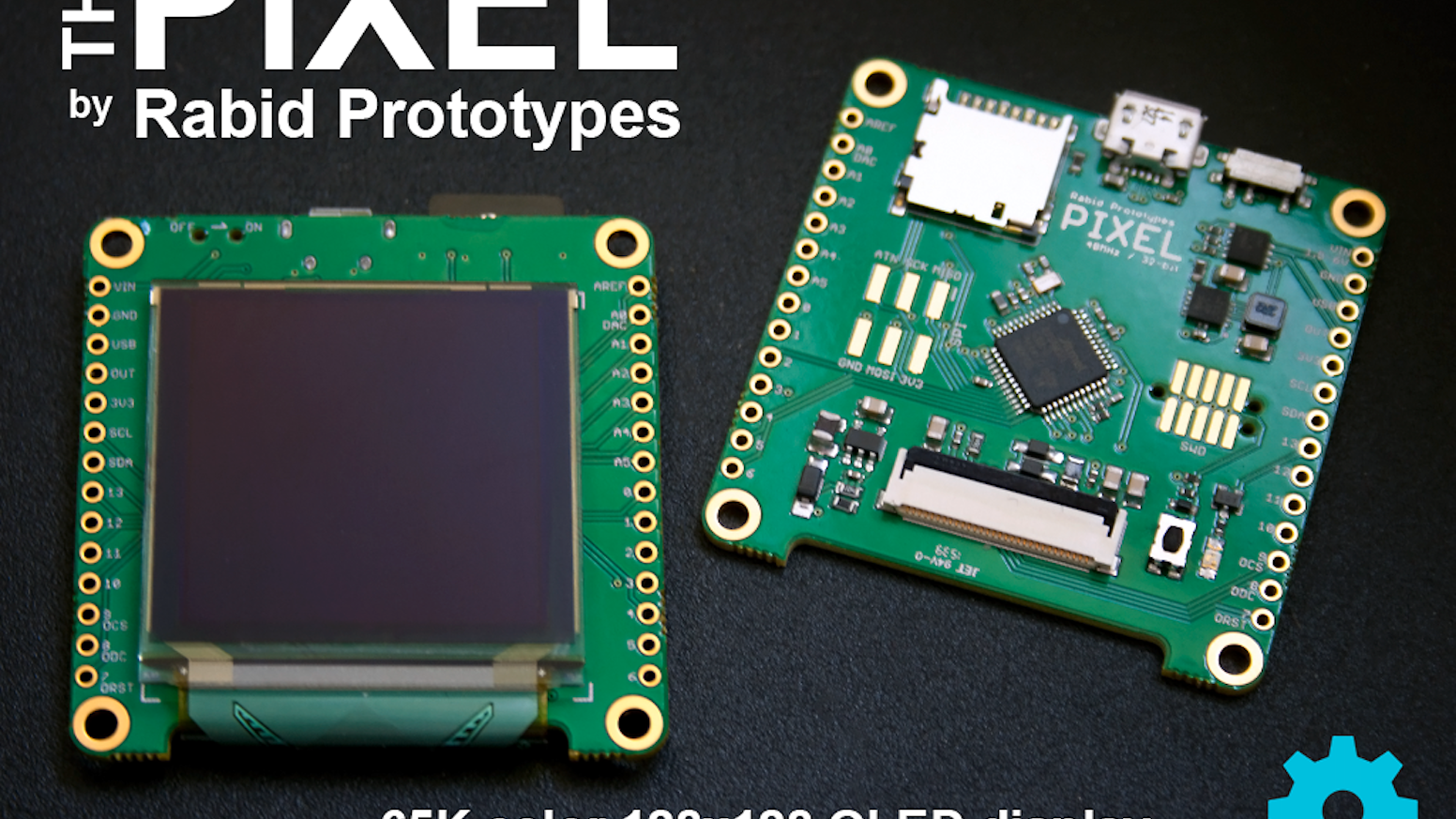 Pixel - The Arduino compatible smart display! by Rabid