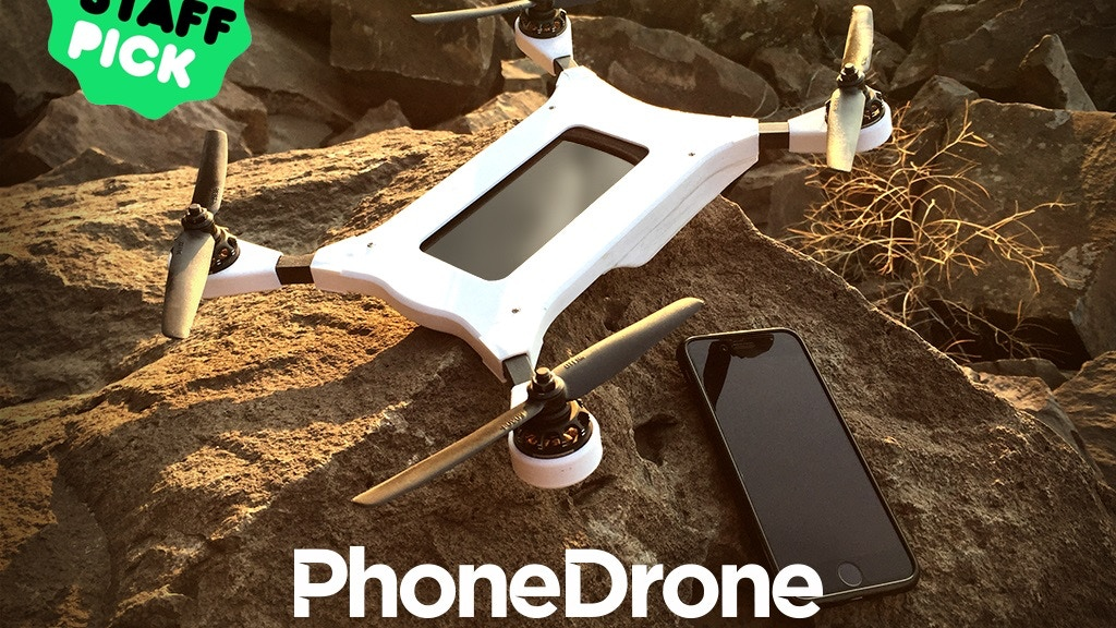 PhoneDrone Ethos - A whole new dimension for your smartphone project video thumbnail