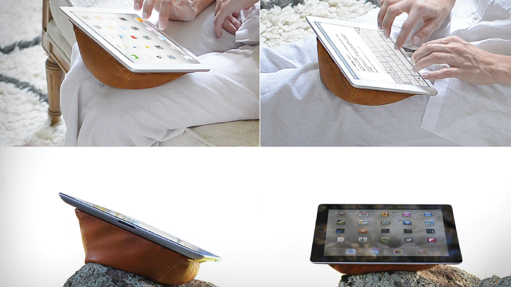Meet Booy - the Tablet Lounge That Adapts to Any Surface project video thumbnail