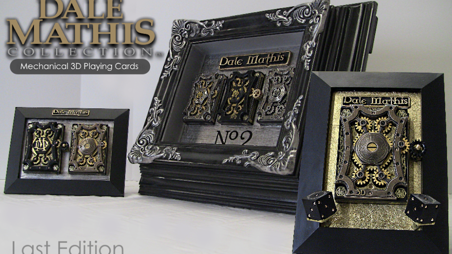 Dale Mathis launches V2 of the Metal Mechanized 3D playing cards