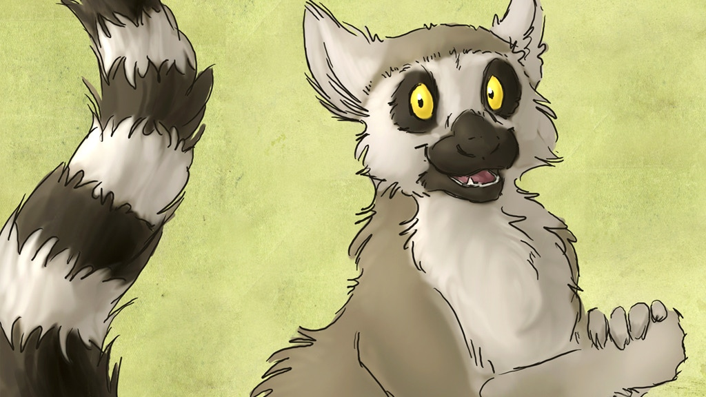 Just One More: Lemur-themed Children's Book! project video thumbnail