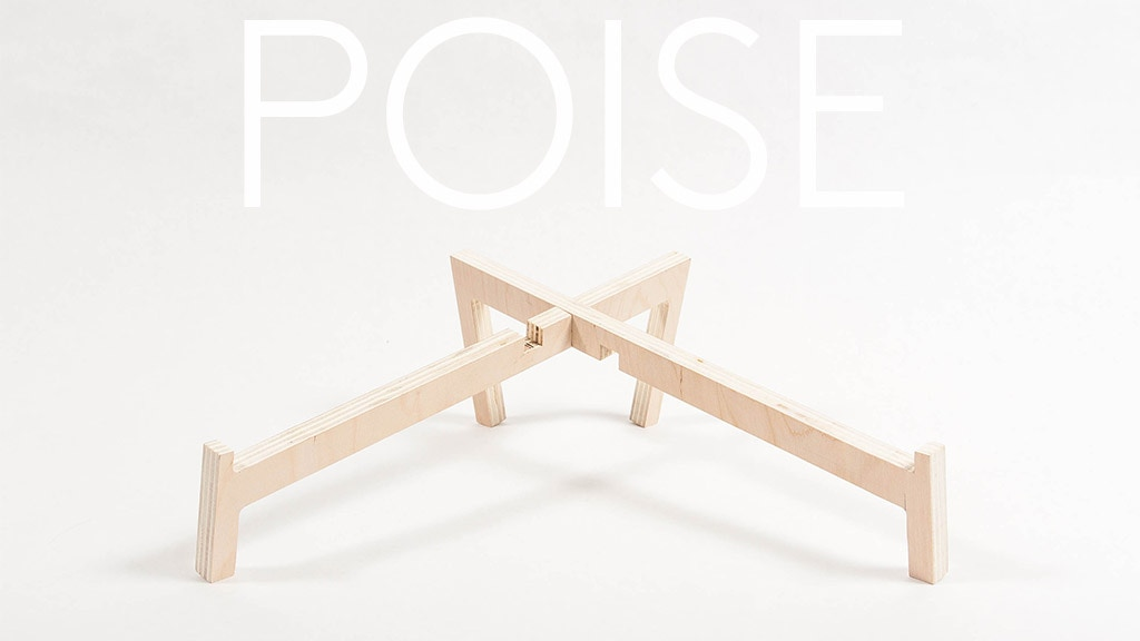 Poise | a laptop stand project video thumbnail