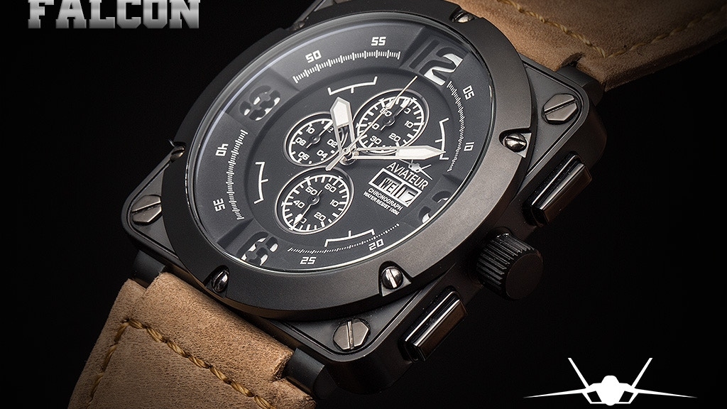 The 1st Aviateur's - Flyback Chronograph Pilot watch project video thumbnail