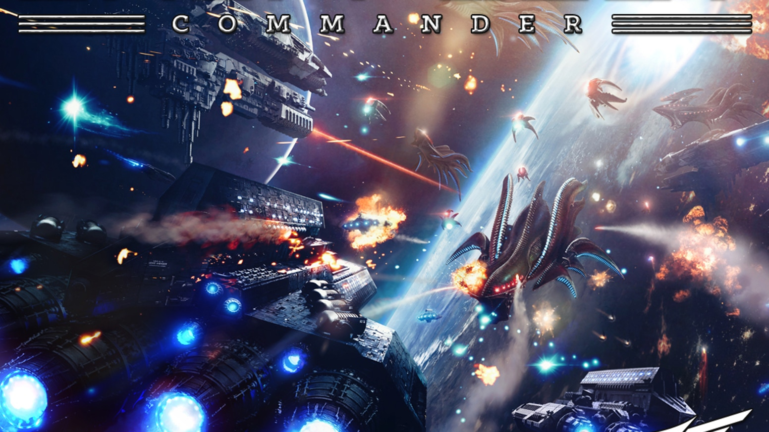 Dropfleet Commander is an orbital space combat game designed by Andy Chambers and David Lewis, based in the Dropzone Commander Universe