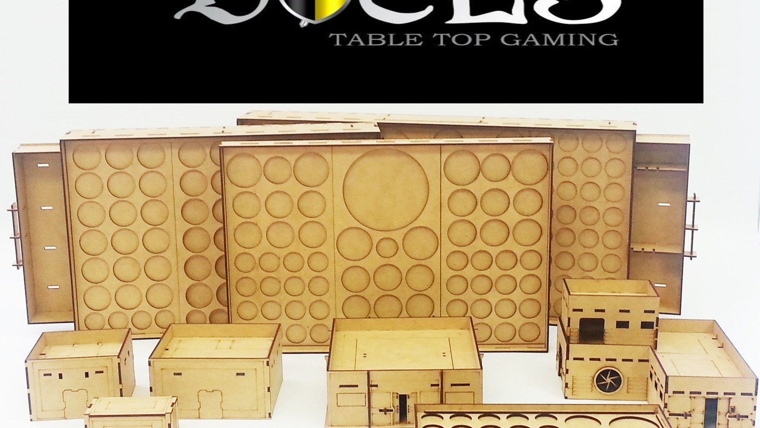 Mini Duels Tournament Trays and 28mm Terrain by Mini Duels Table Top