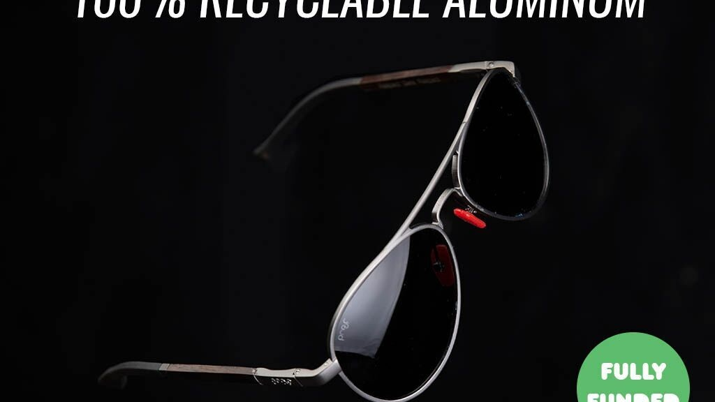 Infinitely Recyclable Aluminum Sunglasses   by Proof project video thumbnail