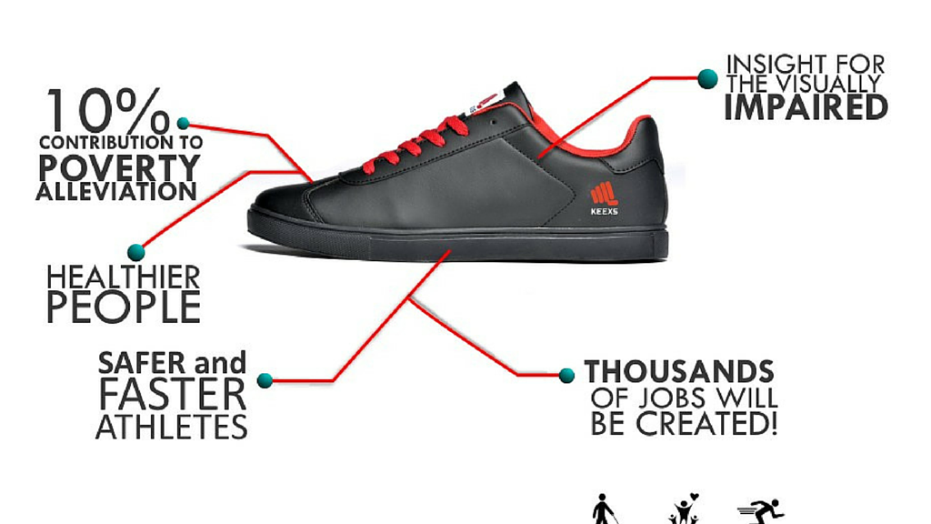 KEEXS: First Innovative and Social Footwear Brand in Africa project video thumbnail