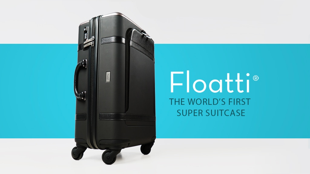 FLOATTI - The World's First SUPER SUITCASE project video thumbnail