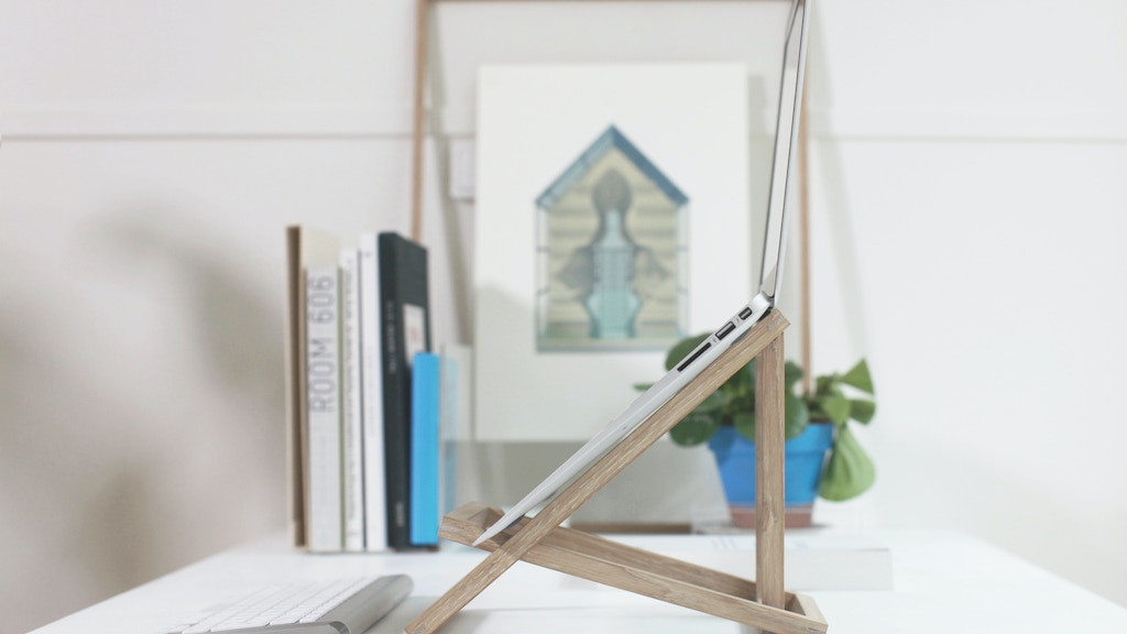 STANDING laptop stand - Get 1 and give 1 for free project video thumbnail