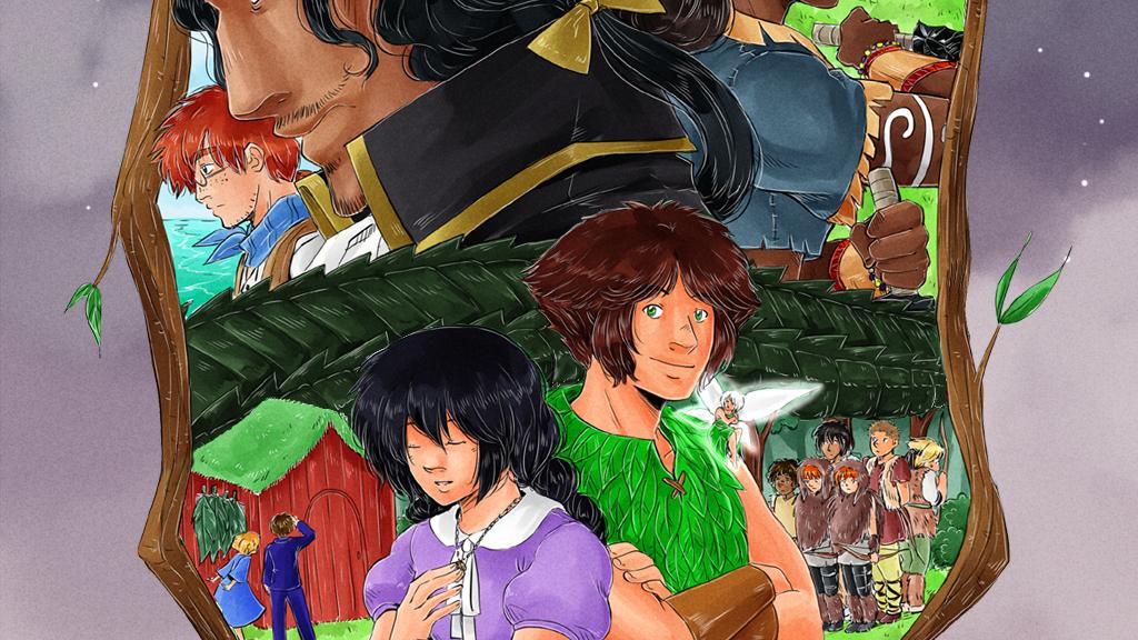 The Peter Pan Manga - Volume 2 project video thumbnail