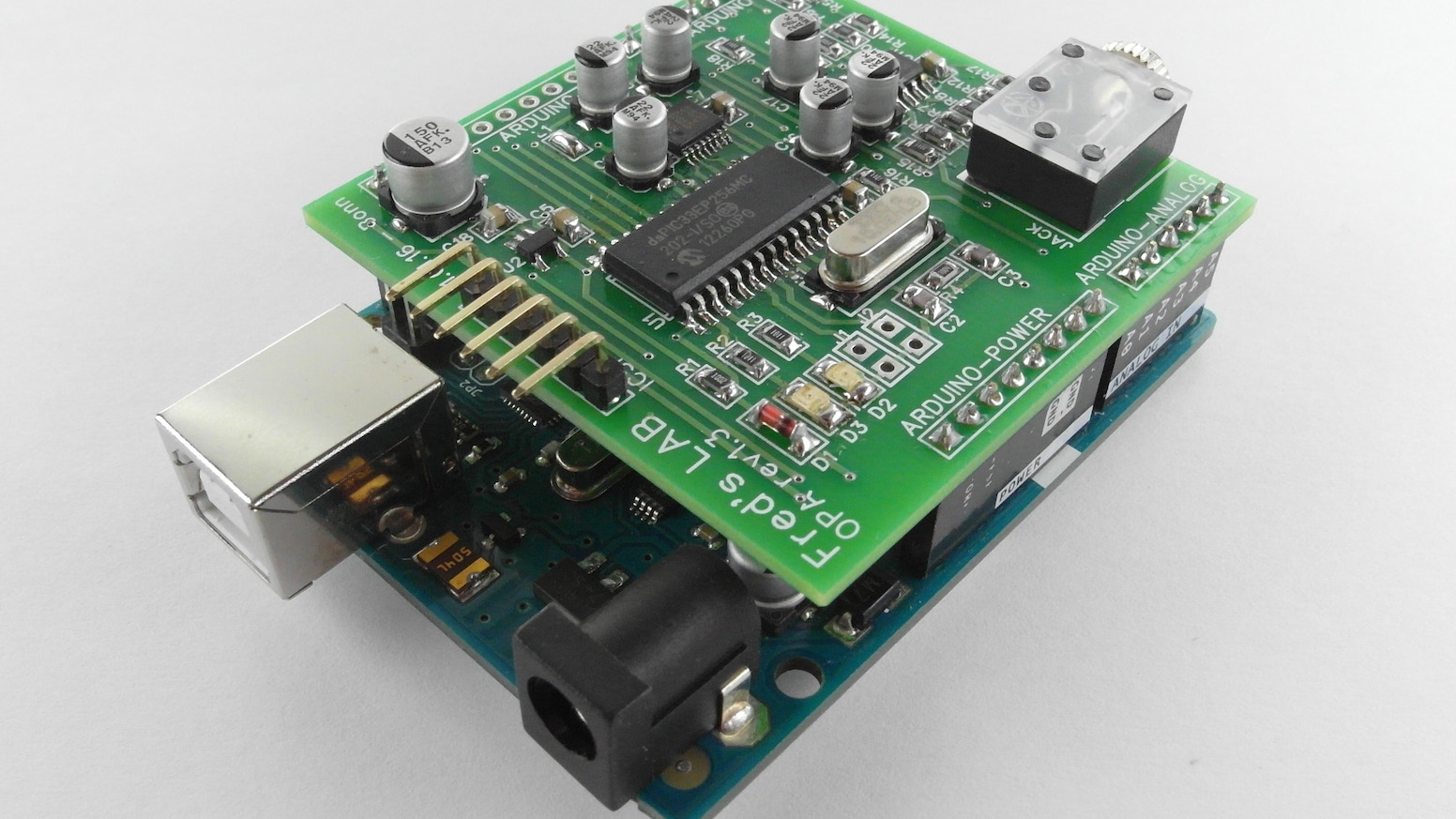 Opa Multitimbral Fm Synthesizer Shield For Arduino By Frdric N5ese Teensey Noise Generator Schematic Meslin Kickstarter