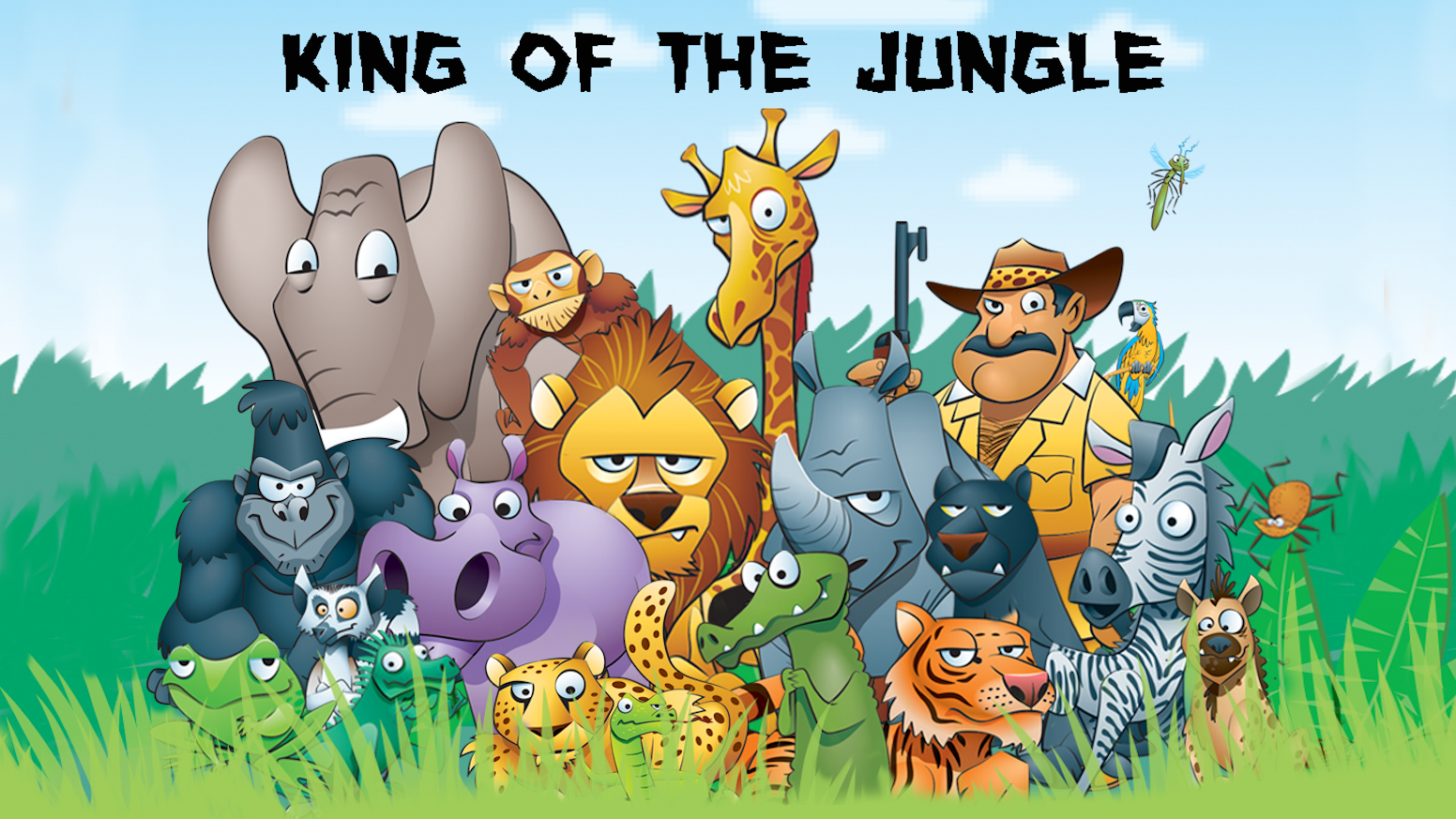 king of the jungle can you survive the jungle carnage by john