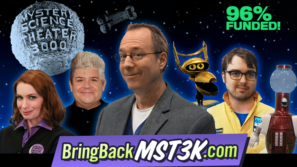 Bring Back MYSTERY SCIENCE THEATER 3000 project video thumbnail