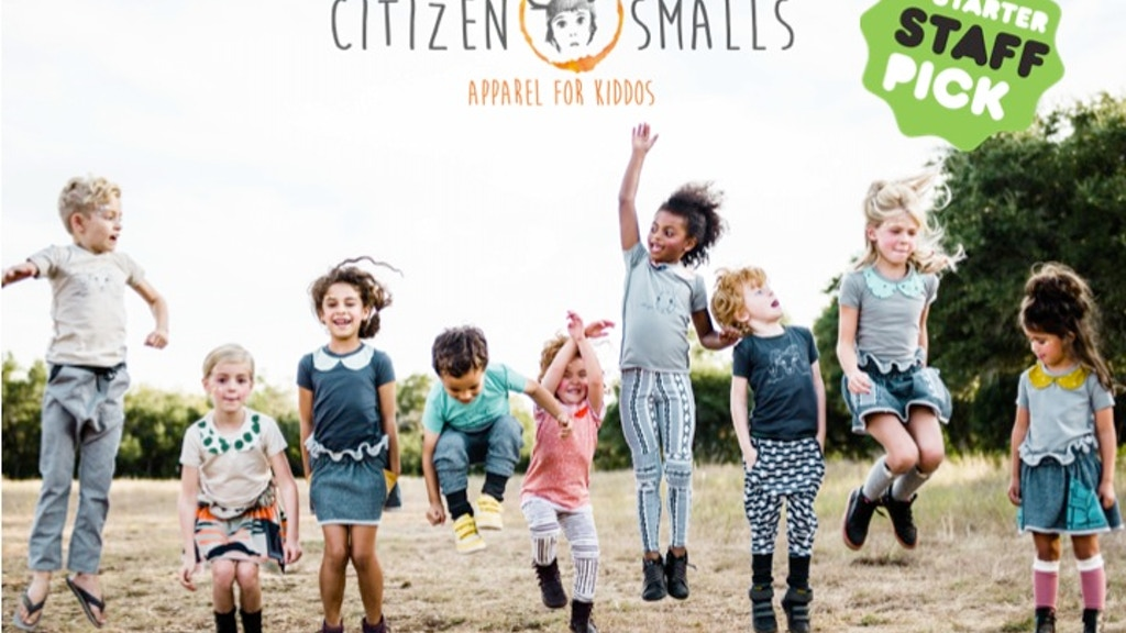 Citizen Smalls {apparel for kiddos} project video thumbnail