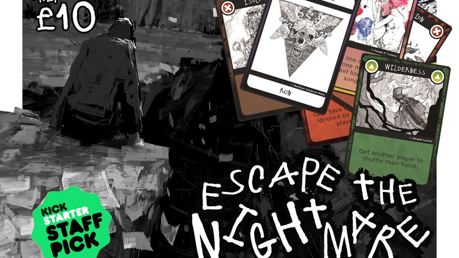 A frantic cooperative card game about laughter and death(3-7 players, 5 min playtime)
