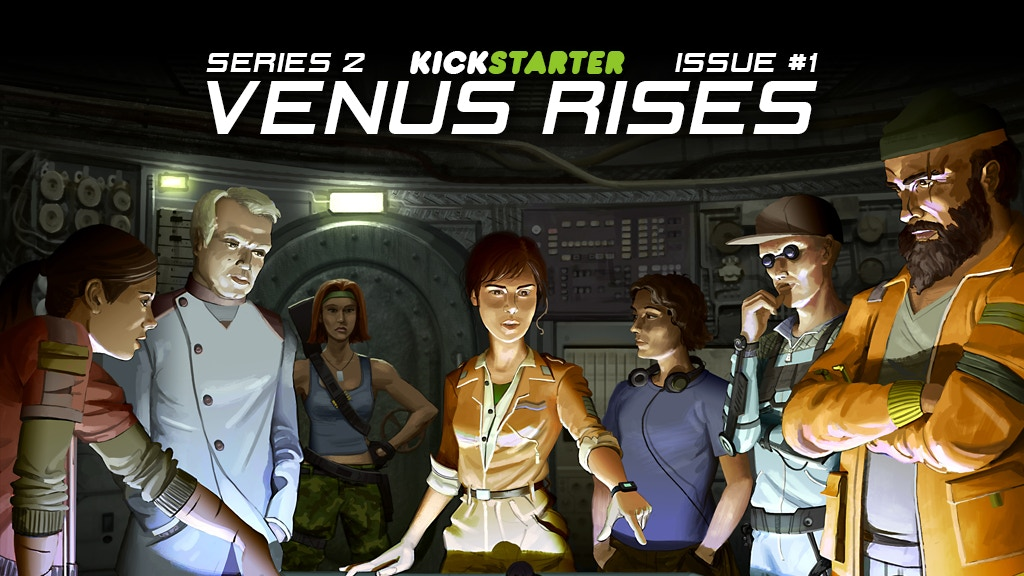 VENUS RISES Issue #1 project video thumbnail