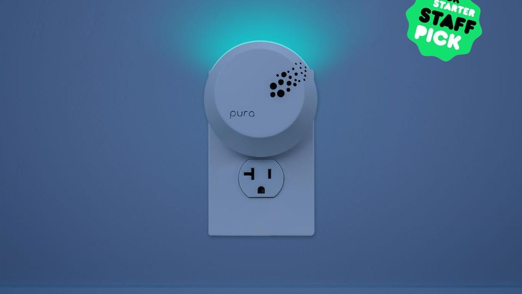 Pura Scents: Smart Air Freshener Meets Smart Nightlight project video thumbnail