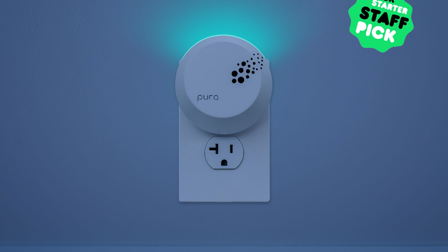 Customize the aroma of any space from a smartphone + a multi-colored smart nightlight that you control.