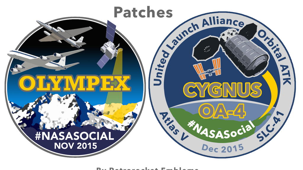 Project image for OLYMPEX/CRS-4 NASA Social Commemorative Patches